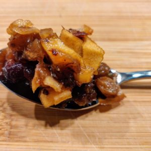 Raw Apple Chutney